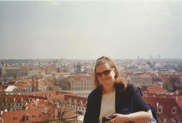 Praha-panorama(pogled sa vidikovca iz kraljevske palače)