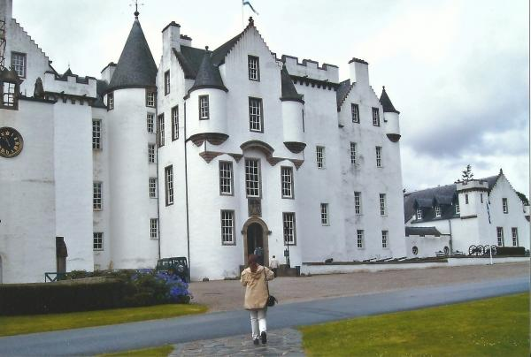 Dvorac Blair iz 13.st.