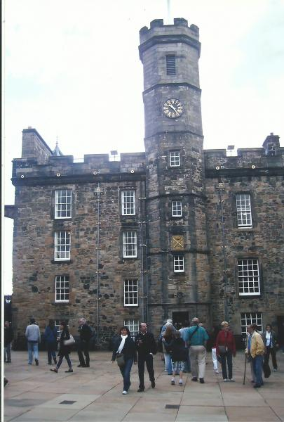 Edinburgh-dio kraljevske palače u kojem je vojni muzej