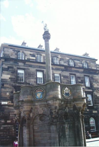 Edinburgh-nekadašnji oglasni stup