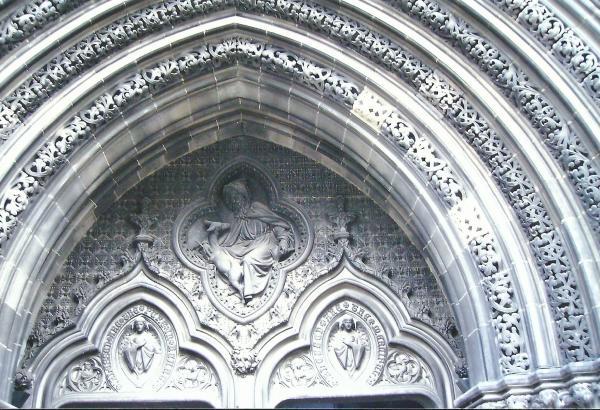 Edinburgh-ulazna vrata u katedralu