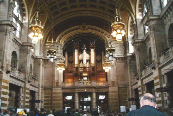 Glasgow-interier muzeja Kelvingrove