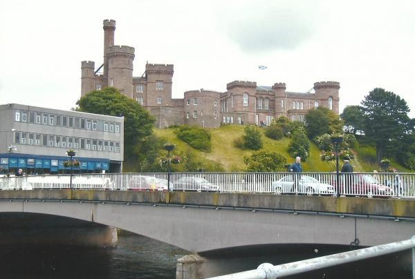 Inverness-nekada kraljevska palača, danas zgrada suda