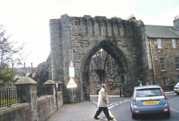 St. Andrewsostaci zidina starog grada