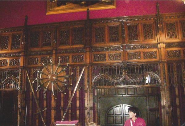 Viteška dvorana u dijelu kraljevske palače u Edinburghu