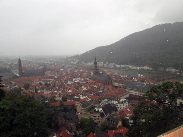 Panorama Heidelberga sa dvorca
