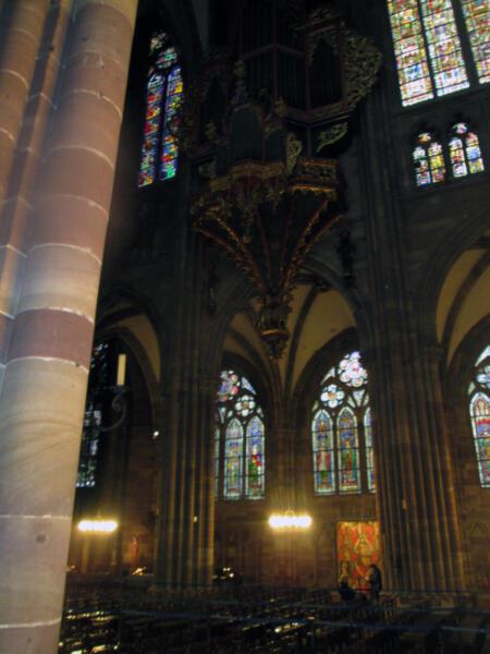 Dio unutrašnjosti katedrale