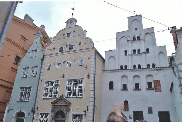 Riga-Kuće 3 brata iz  16., 17. i 18. st.