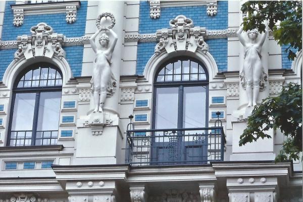 Riga-jedno od prekrasnih pročeja zgrada