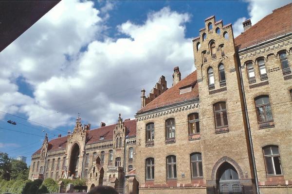 Riga-zgrada bolnice (nasuprot hotela Theatar u kojem smo boravili)