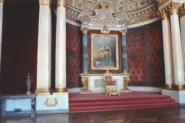Soba cara Petra I u Zimskom dvorcu