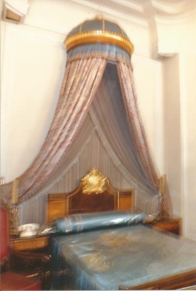 Arheološki muzej u Adis Abebi-spavaća soba  cara Hajle Selasija