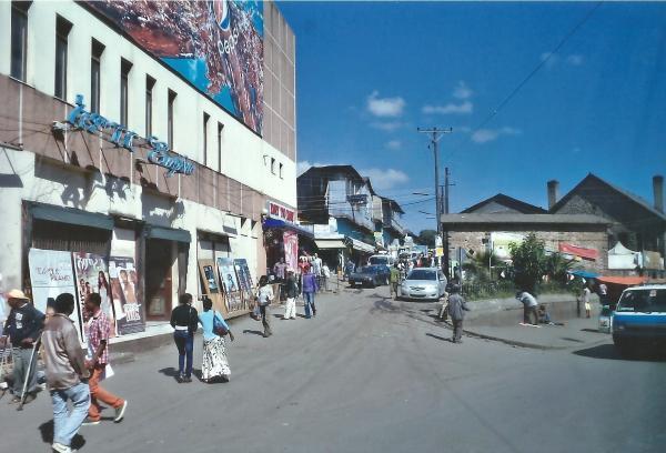 Ulica u Adis Abebi