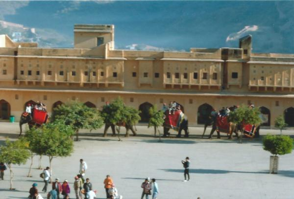 Jaipur-rađastanska palača Fort Amber
