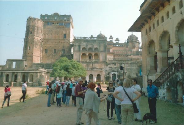 ORCHHA-Palača Jehangir Mahall iz 15. st