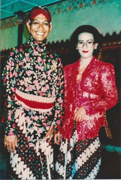 Sadašnji sultan sa suprugom