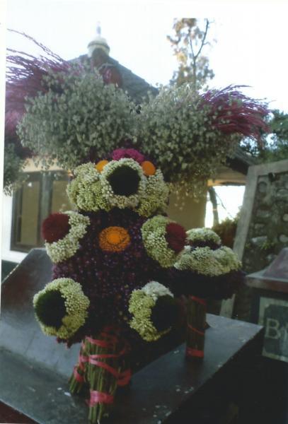 Suveniri od suhog cvijeća (medeki) kod vulkana Bromo