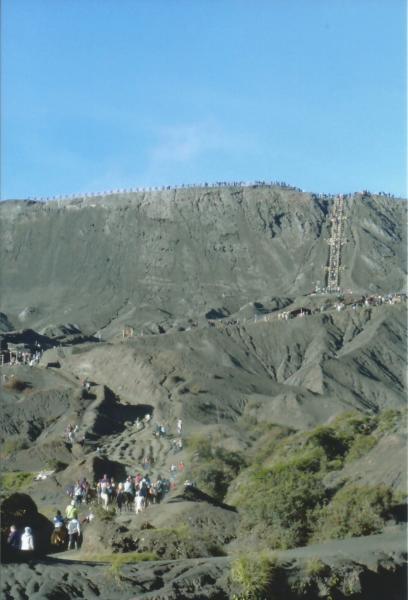 Uspon na vulkan Bromo