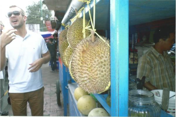 Yogyakarta-Tržnica (vodič Nikica i egzotično voće durian