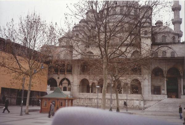 Crkva sv. Irene-unutarnje dvorište Topkapi palače
