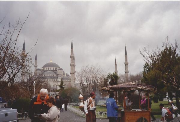 Istambul-Plava džamija