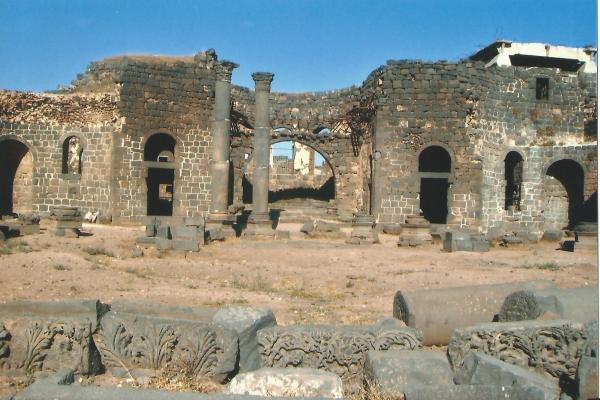 Bosra-ostaci rimskog grada