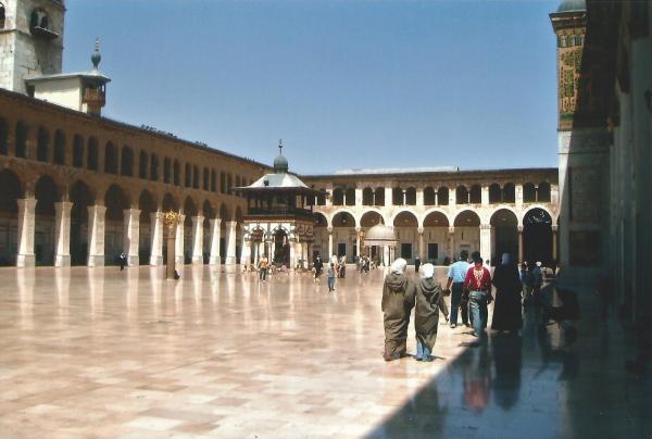 Damask-dvorište Umajadove džamije