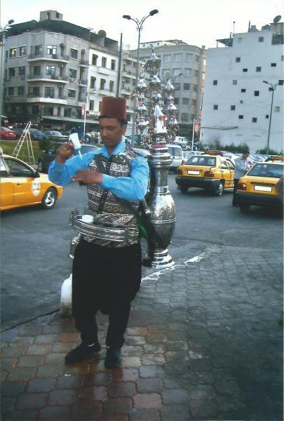 Damask-prodavač vode