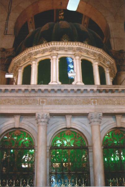 Kapela unutar Umajadove džamije u kojoj je glava Ivana Krstitelja