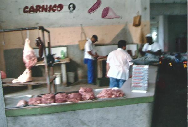 Centfuegas - mesnica u sastavu tržnice