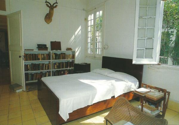 Spavaća soba u Hemingweyevoj kući