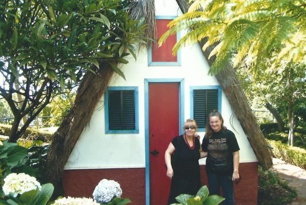 Karakteristične kućice u santani