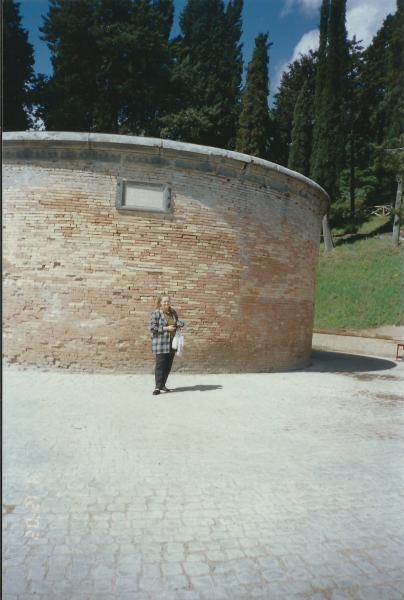 Orvieto - Ulaz u arteški bunar