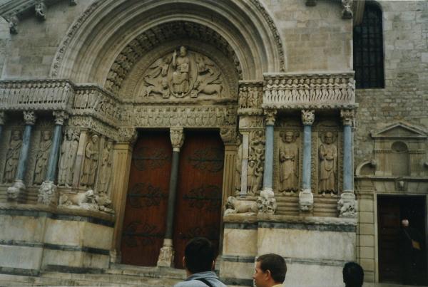 Avignon - ulaz u papinsku palaču