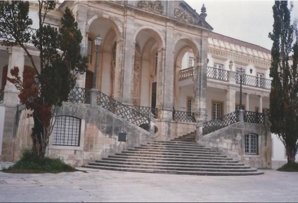 COIMBRA-ulaz u staro sveučilište iz 13. st.-nekada kraljevski dvor