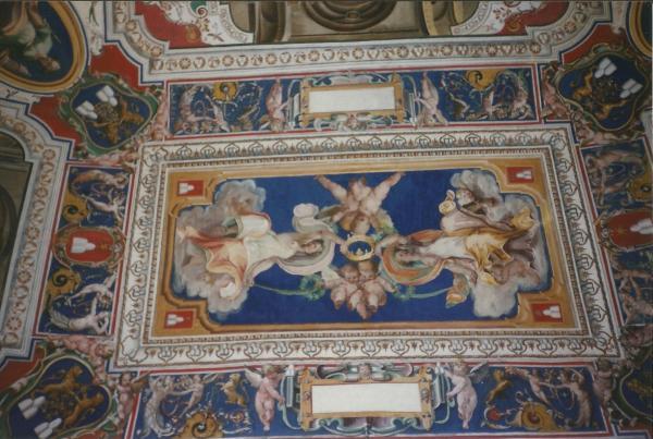 Vatikan - Fragment Sikstinske kapele