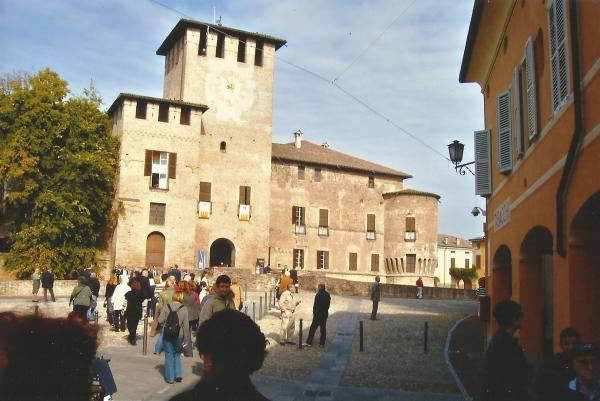 Dvorac Fontaneleto-izvana