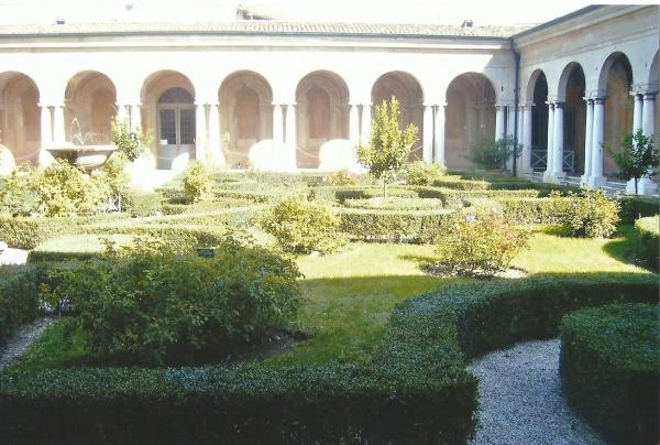 Mantova-dvorište duždeve palače