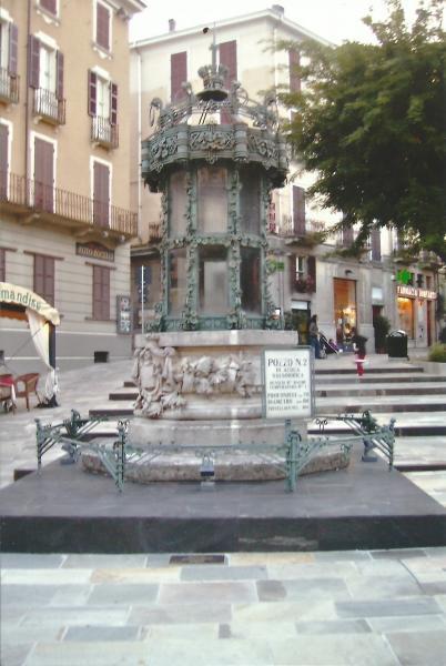 Salsomagiore-izvor slane vode na 1900 m, temp. vode 16stupnjeva C