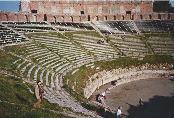 Taormina-amfiteatar