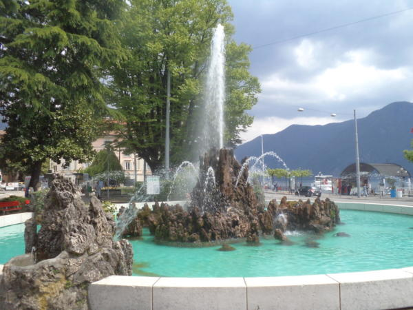 Lugano fontana