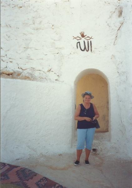 Matmata - ulaz u Berbersku kuću