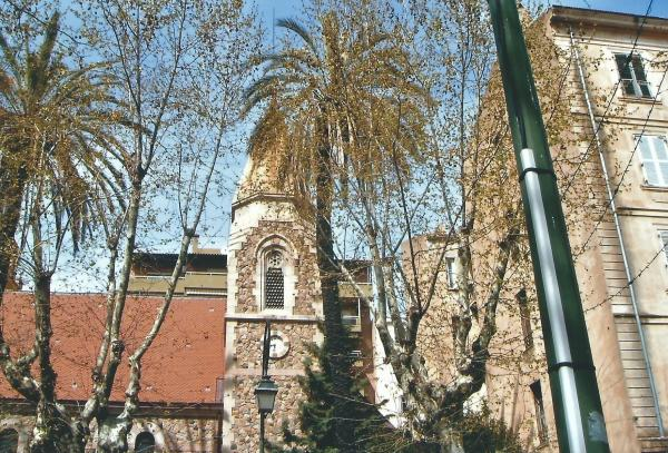 Ajaccio-nekad anglikanska crkva, danas škola plesa