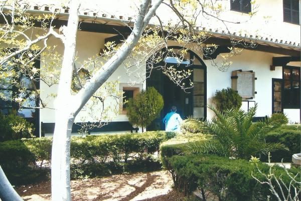 Unutarnje dvorište Kartuzijanskog samostana u Vall de Mosi