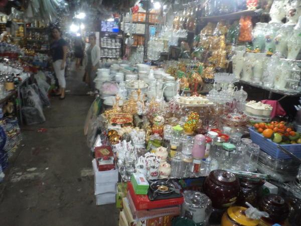 Dio tržnice u Hue-u.