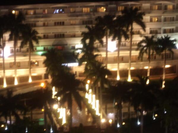 Pogled sa 14. kata hotela u Siagonu.