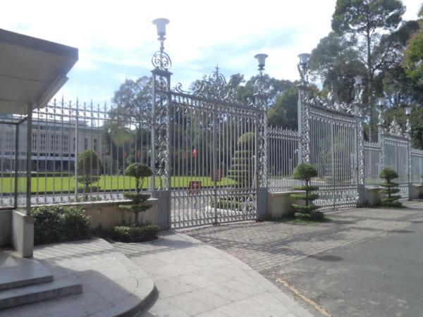 Ulaz u predsjedničku palaču.
