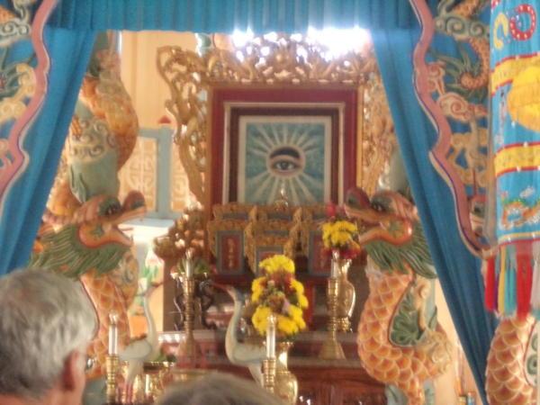 Unutrašnjost hrama.